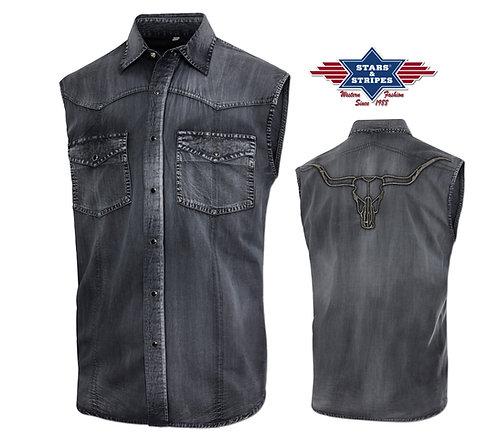 Stars & Stripes western shirt (Enzo - S)