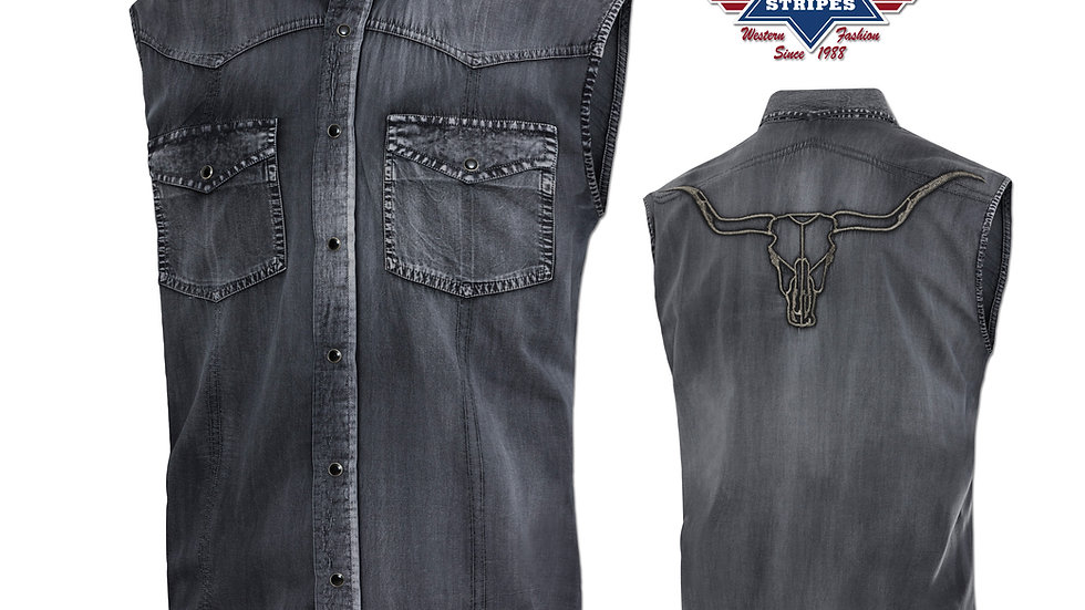 Stars & Stripes Western Cowboy Shirt