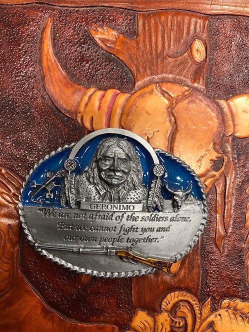 Geronimo Belt Buckle