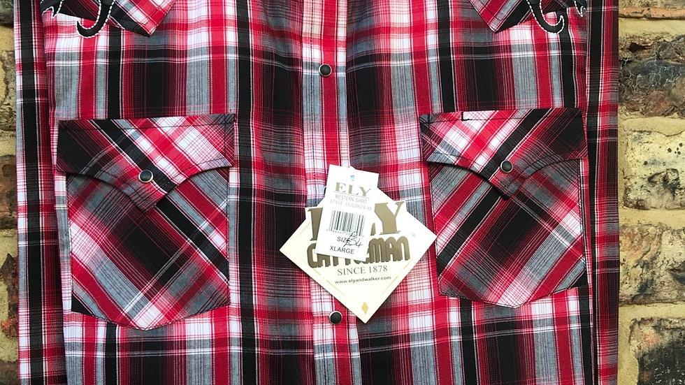 Ely Western Tribal shirt   E30
