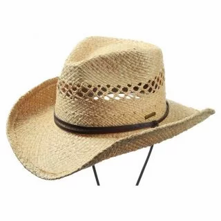 Stetson Larimore Raffia Cowboy Hat