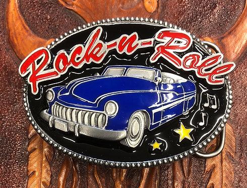 Rock-n-Roll Belt Buckle (BU11)