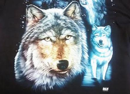Wild Collection T Shirt Wolf Trio