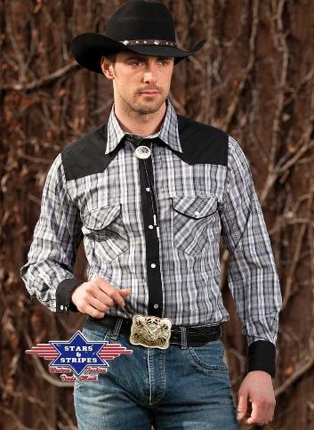 Brian by Stars & Stripes Western Shirt