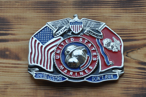 United states marines belt buckle
