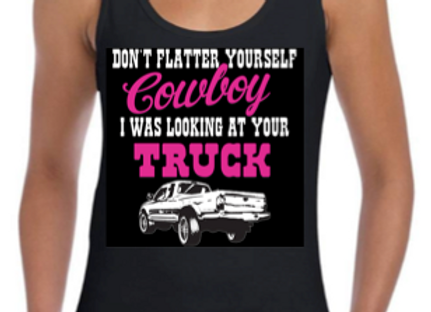 Looking At Your Truck Ladies vest (USA14)