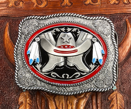 Tanside Lone Star Belt Buckle (BU23)