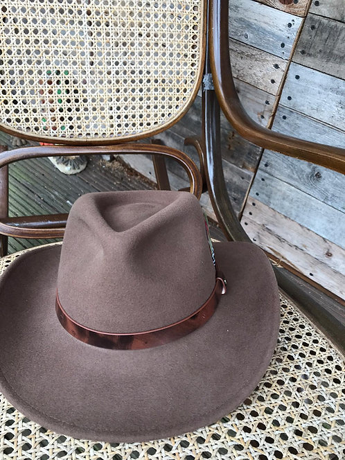 Stetson Woolfelt Traveller Crushable