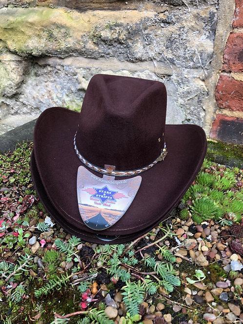 Kansas Cowboy Hat by Stars & Stripes