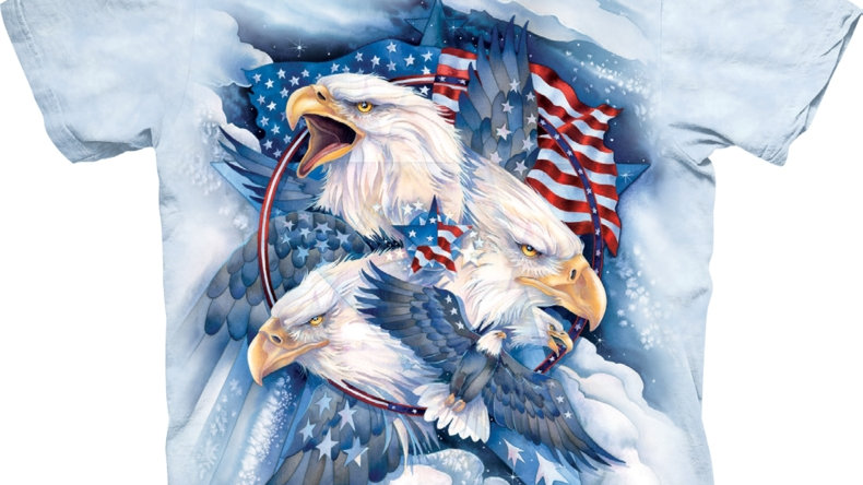 Allegiance Patriotic Eagle T-Shirt by The Mountain