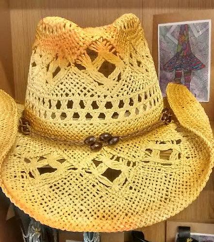 Bullhide Cowboy Straw Hat JBT01