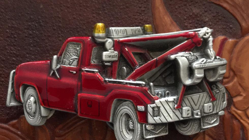 Red Truck Belt Buckle (BU15)