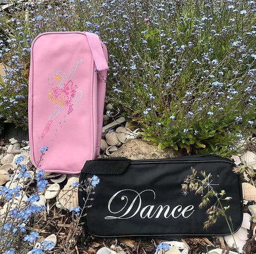 Dance Shoe Zipped Bag