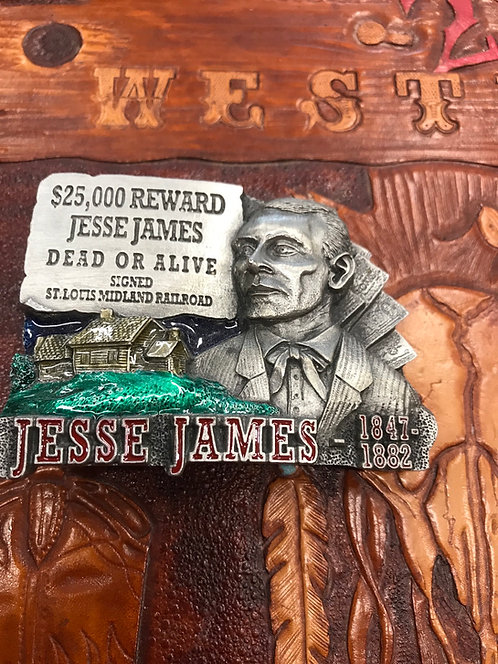 Jesse James Belt Buckle
