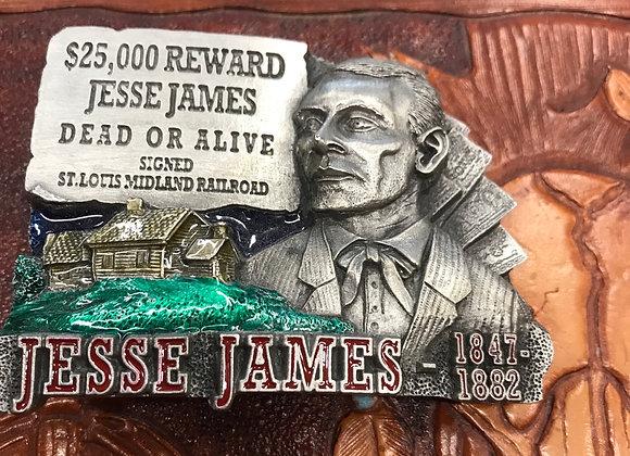 Jesse James Belt Buckle