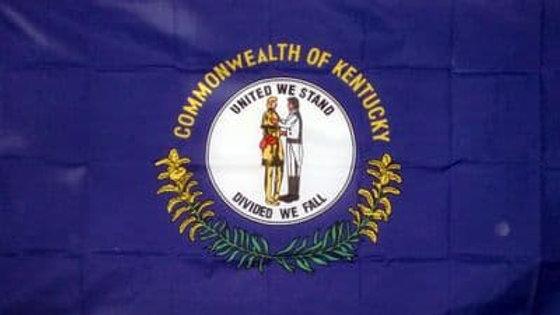 Kentucky Flag 5' x 3'