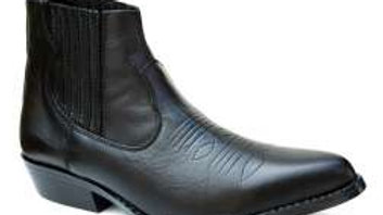 Leather Ankle Cowboy Boot 7444C