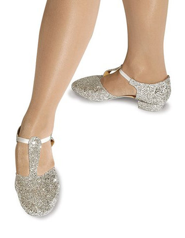 Roch Valley Silver Greek Dance Shoes