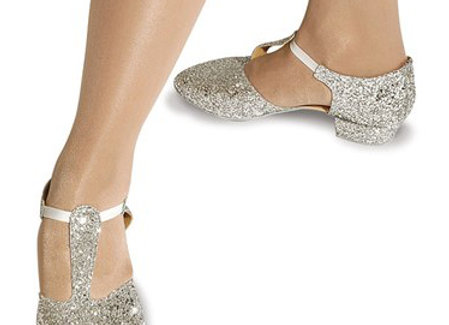 Roch Valley Silver Greek Dance Shoes