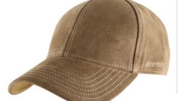 Stetson Baseball Cap Calf Leather