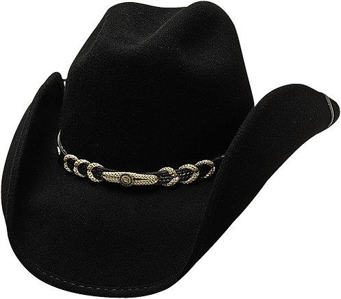 Bullhide Montanna Black Cowboy Hat