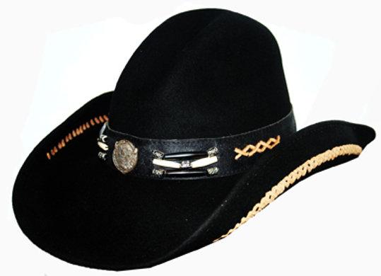 Bullhide Foort Apache Cowboy Hat   H23