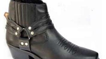 Santa Fe Cowboy Ankle Boot, 9190B