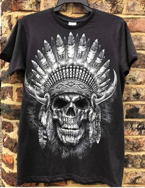 Native American Skull Fantasy