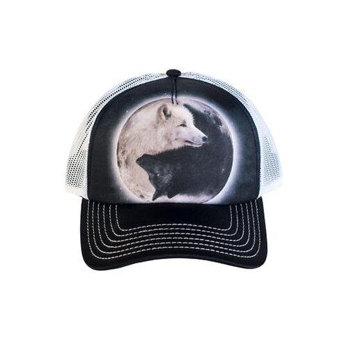 The Mountain Yin Yang Wolf cap