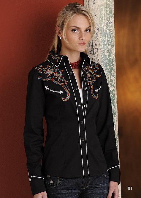 Ladies Panhandlel Western Shirt LS016