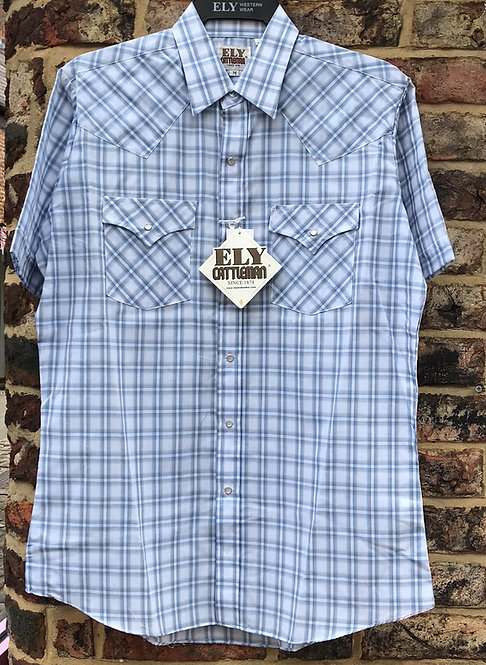 Ely Western Short Sleeved Shirt  E07