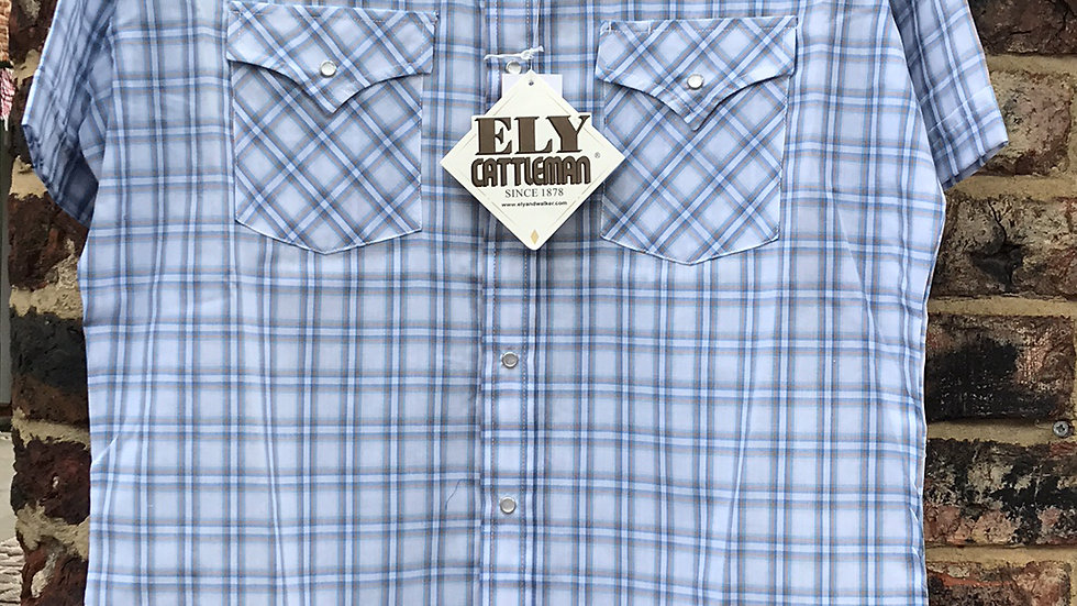 Ely Western Short Sleeved Shirt  E07