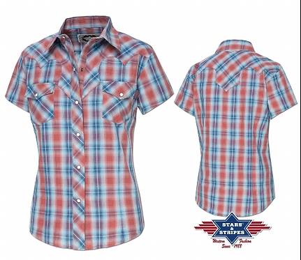 Short Sleeved  Western Shirt by Stars & Stripes