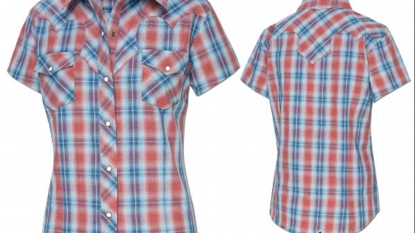 Sophia - Short Sleeved  Western Shirt by Stars & Stripes