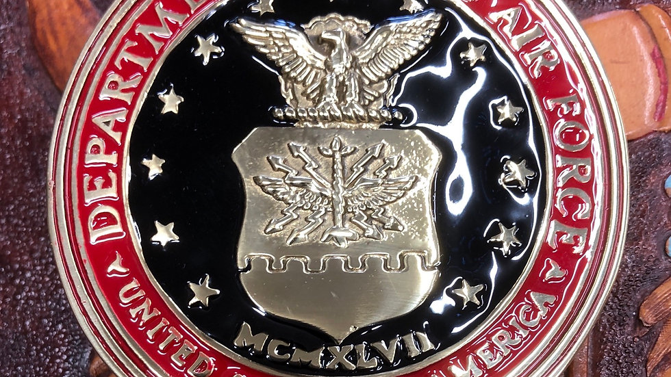 Department of the Air Force Belt Buckle  (BU30)