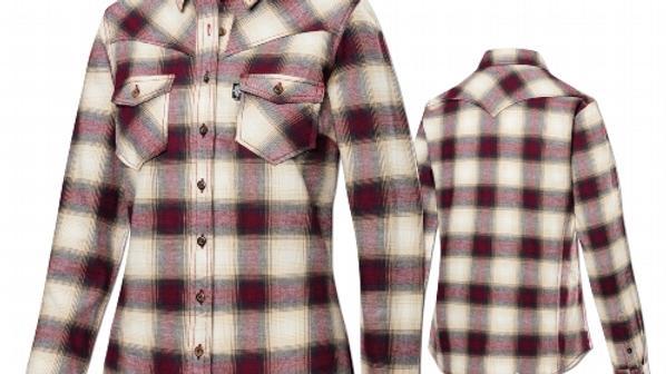 Ladies Soft Check Western Shirt by Stars & Stripes