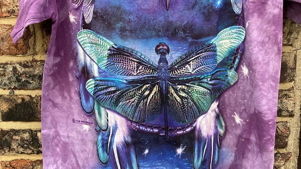 Dragonfly Dreamcatcher (Mountain T-shirt)