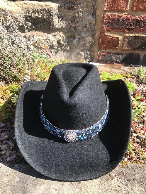 Bullhide  Cowboy Hat Dancin' Crazy with Stone Set Hatband
