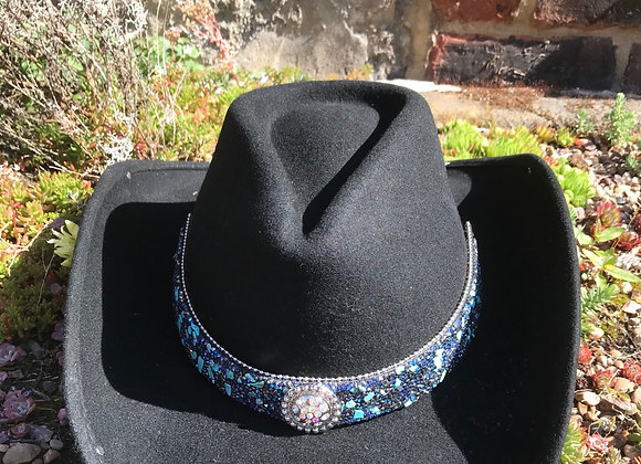 Bullhide  Cowboy Hat Dancin' Crazy with Stone Set Hatband