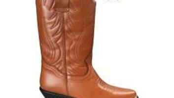 Santa Fe Tan Cowboy Boots