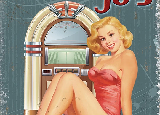 Lost in the 50s (Metal Sign)