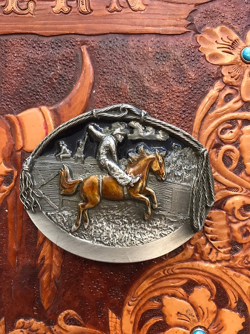 Western rider by Buckles of America (BU27)