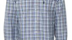 Checked Long Sleeved Shirt by Champion