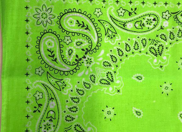 Neon Green Bandana