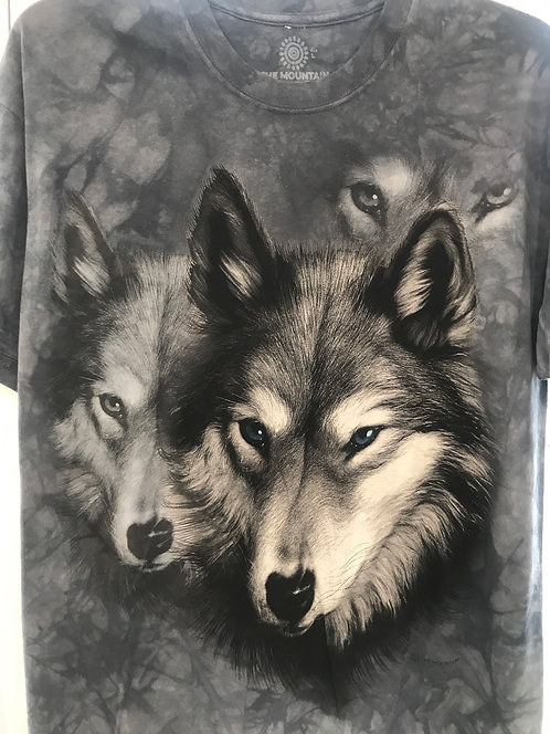 Wolf portrait by The Mountain M14