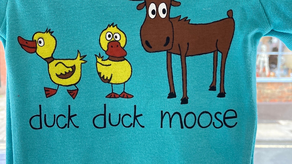 Lazy One Baby Grow - Duck Duck Moose