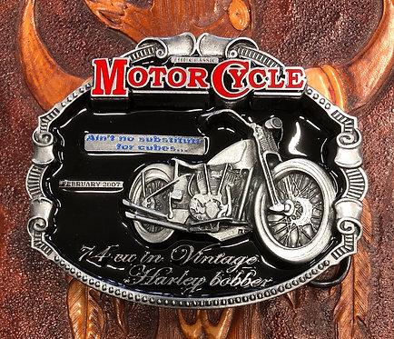 Harley Davidson  Bobber  Belt Buckle (BU17)