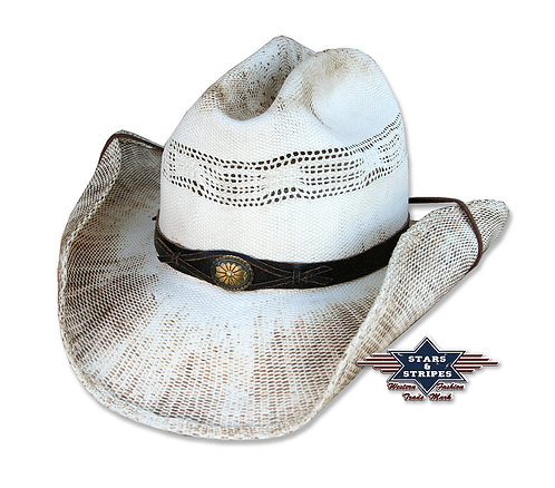 Snake Straw Cowboy Hat by Stars & Stripes
