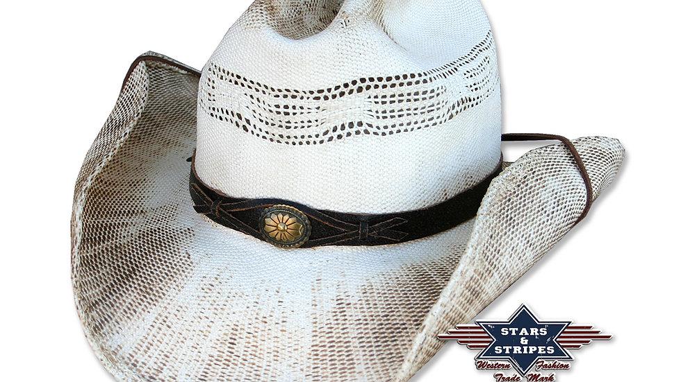 Snake Straw Cowboy Hat by Stars & Stripes