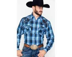 Ely Tribal L/Sleeved Western Shirt   E07